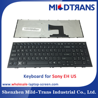 Hot Selling Laptop Keyboard for Sony EH US Language Black