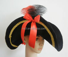 Party Carnival Funny adult bulk female pirate hat MCH-0565