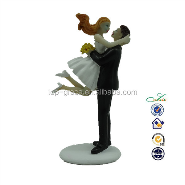 new polyresin funny love wedding couple figurine statue gift