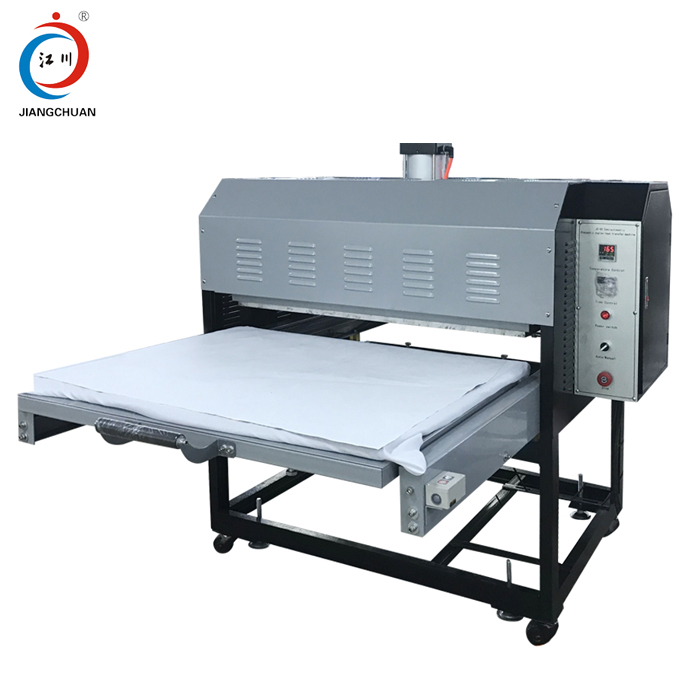 T-shirt printing heat press high quality large format pneumatic heatpress machine