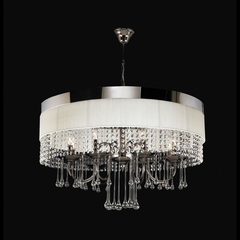 8 lights Modern crystal chandelier lamp