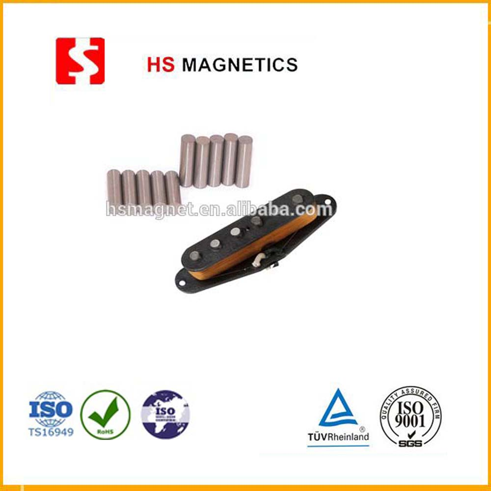 Permanent alnico 5 rod magnet for guitar pickups 5*16, 5*17, 5*18