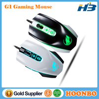 2015 New Gaming Mouse Adjustable DPI 7D LED Back Light USB Wired Game Mice For Laptops Desktop