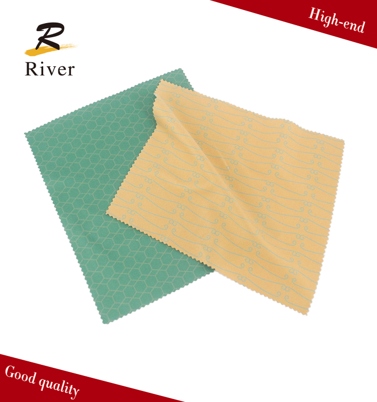 Logo print microfiber Lens Cleaning Cloth