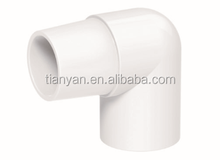 HIGH QUANLITY SCHEDULE 40 MALE & FEMALE ELBOW SOCKET PVC PIPE FITTINGS PIPE LIST FOR WATER SUPPLY