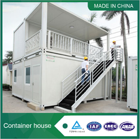 Beautiful modern prefabricated container house for sale