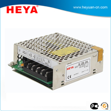 25W 12V 24V dc power supply single output constant voltage switching power supply