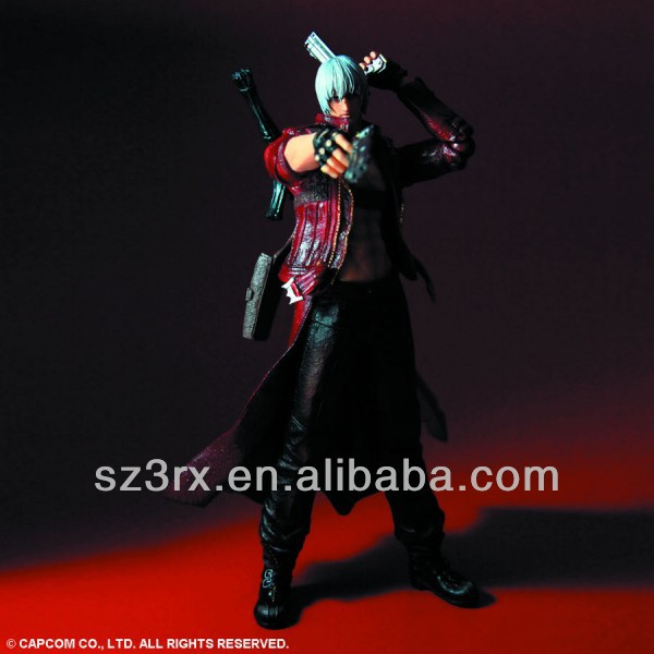 DEVIL MAY CRY 3 DANTE ACTION FIGURE PLAY ARTS VIDEO GAME