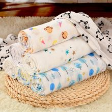 China super soft eco friendly after washed 47''x47'' baby blanket cotton manufacturer supply product bamboo towels