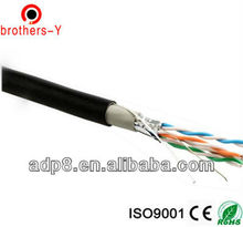 outdoor cat5e ccau/ccam/bare copper cable water proof