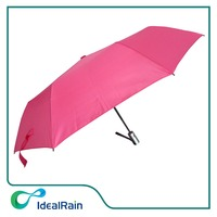 strong windproof 9 ribs full automatic 3 fold umbrella