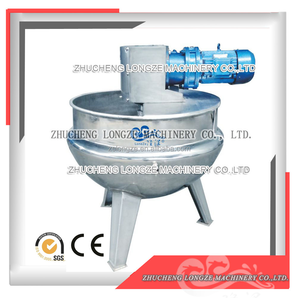 Steam boiling pans/jacketed industrial cooking kettle/tilting cooking kettle