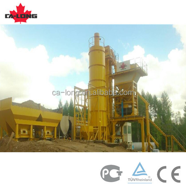 56t/h CLY-700 mobile asphalt mix plant with diesel oil/ heavy oil/ natural gas burner