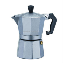 6 cup High quality Wholesale Aluminum Espresso Maker Stovetop moka coffee pot