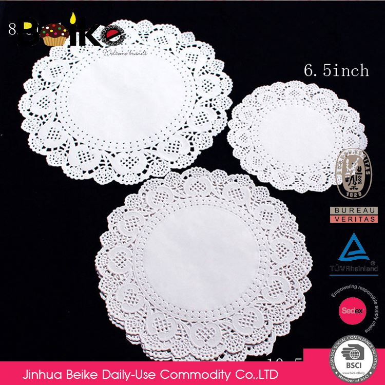 High performance comfortable design exquisite paper lace doilies