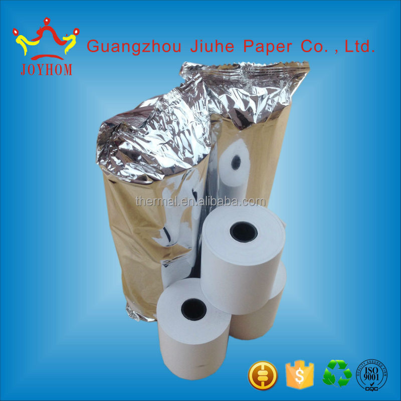 Hot sale big roll 80*80mm thermal papers roll in paper Guangzhou