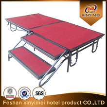 Hot sale anti-slip stage,moving wedding stage,mobile stage for wedding concert