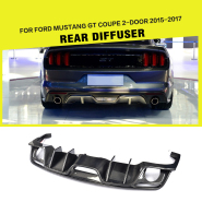 Carbon Fiber Racing Side Skirts for Ford Mustang GT Coupe 2-Door 15-17