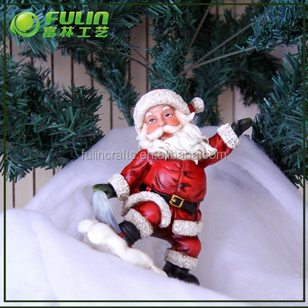 9.06 in H standing santa statue for holiday living christmas ornaments