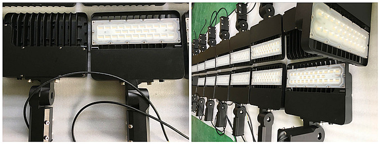 Parking Led Shoe Box Light 100w 150w 200w 120V