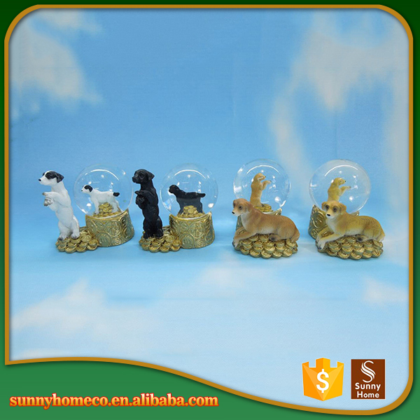 Resin Hot Sell Puppy Dog Figurine,Cute Handmade Craft