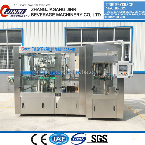 Can carbonated soft drink filling machine