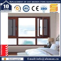 New design aluminum casement simple iron window grills