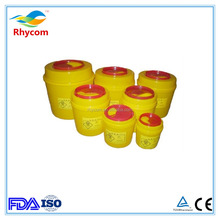 ROUND PP medical sharps container