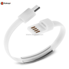 USB Bracelet Cable with Charging and Sync Smart Phone USB Cables for Iphone