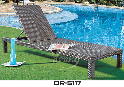 pool furniture sun bed