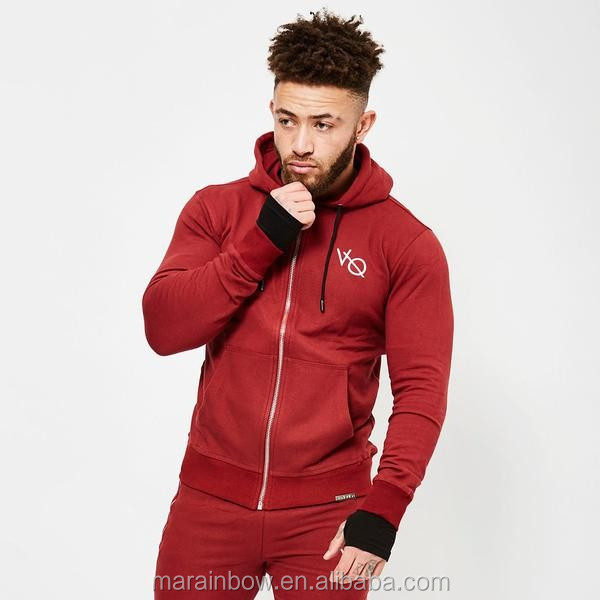 Light weight Mens Blackout Hoodie Full zipper Gym Fitted Hoodie Athletic Tracksuit Top Hoodie Wholesale Fitness Clothing OEM