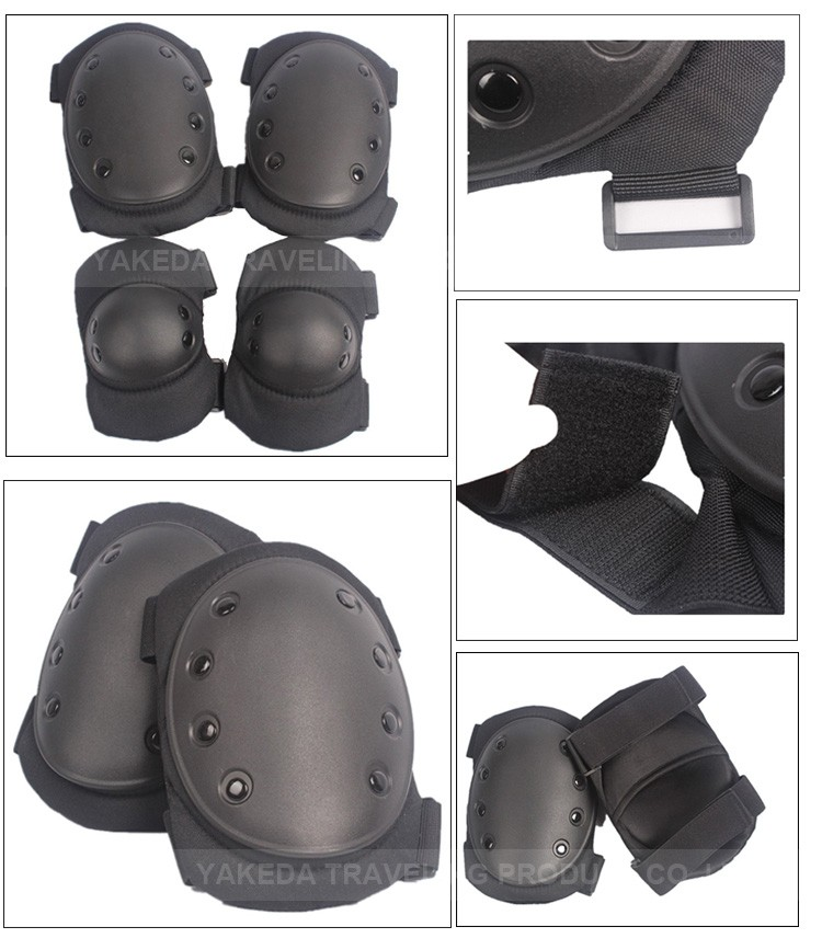 New military tactical elbow support factory price elbow fitting outdoor knee elbow pads
