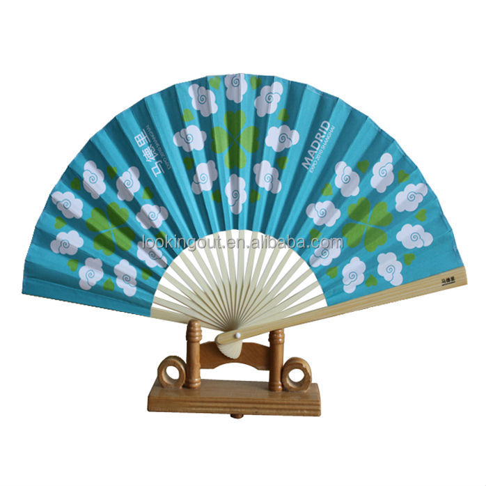 2017 hot fancy hi-quality traditional chinese gifts hand fan