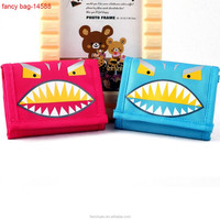 Children Cheap Promotional Folding Cartoon Wallet