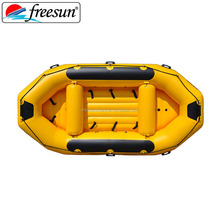 FREESUN or OEM self bailing floor yellow inflatable raft boat