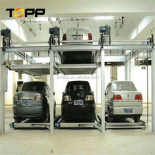 car park lift and slide smart car parking device lift garage pit type car parking equipment stacking system