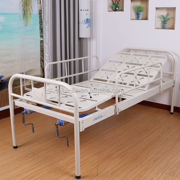 Normal two crank hospital bed