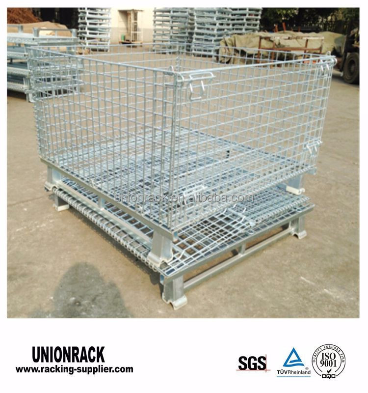 Foldable Galvanized Wire Mesh Cage