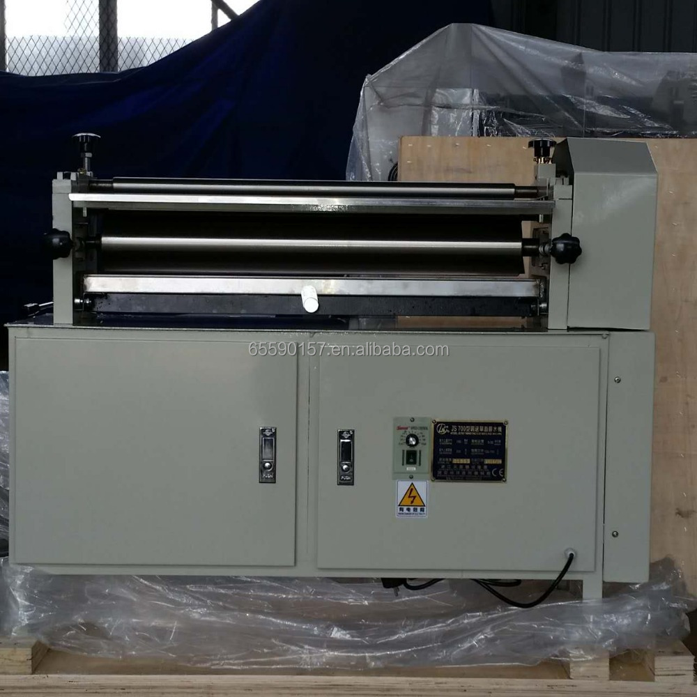 JS1000/700 paperboard Gluing machine ( cold glue )