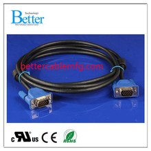 Super quality best selling 15pin vga rca cable