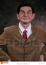 Mr. Bean Movie Character Statues Resin Sculptures Figure