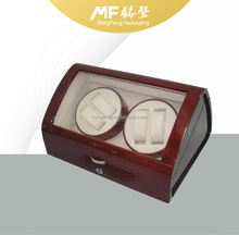 Brown High-end Double-head Watch Winder