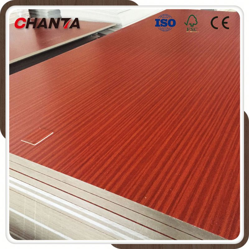 Colorful Fancy Paper Board Melamine Plywood 16mm