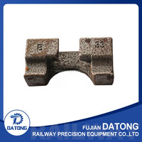 Wholesale Forged Railway Iron Foundation for Railway Turnout Used