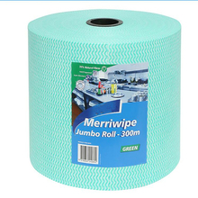 Discount sell industrial nonwoven wiping rags , big brushing roll