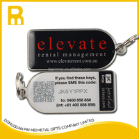 Name Tag Key Chain/3D key chain/metal keychain
