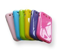 Solid color TPU Gel Case Cover for Samsung Galaxy S3 i9300