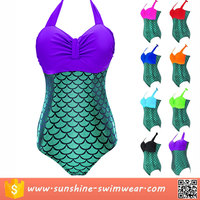 New Design Fish Scale Mermaid swimsuit Bikini Swimwear sale