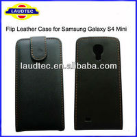 Hot Leather Flip Case for Samsung Galaxy S4 Mini i9190,Galaxy S4 Mini Flip Leather Case Cover,Size 100% Perfect fit Laudtec