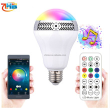 NEW products promotional gift smart bulb RGB led music light bluetooth speaker,speaker bluetooth led